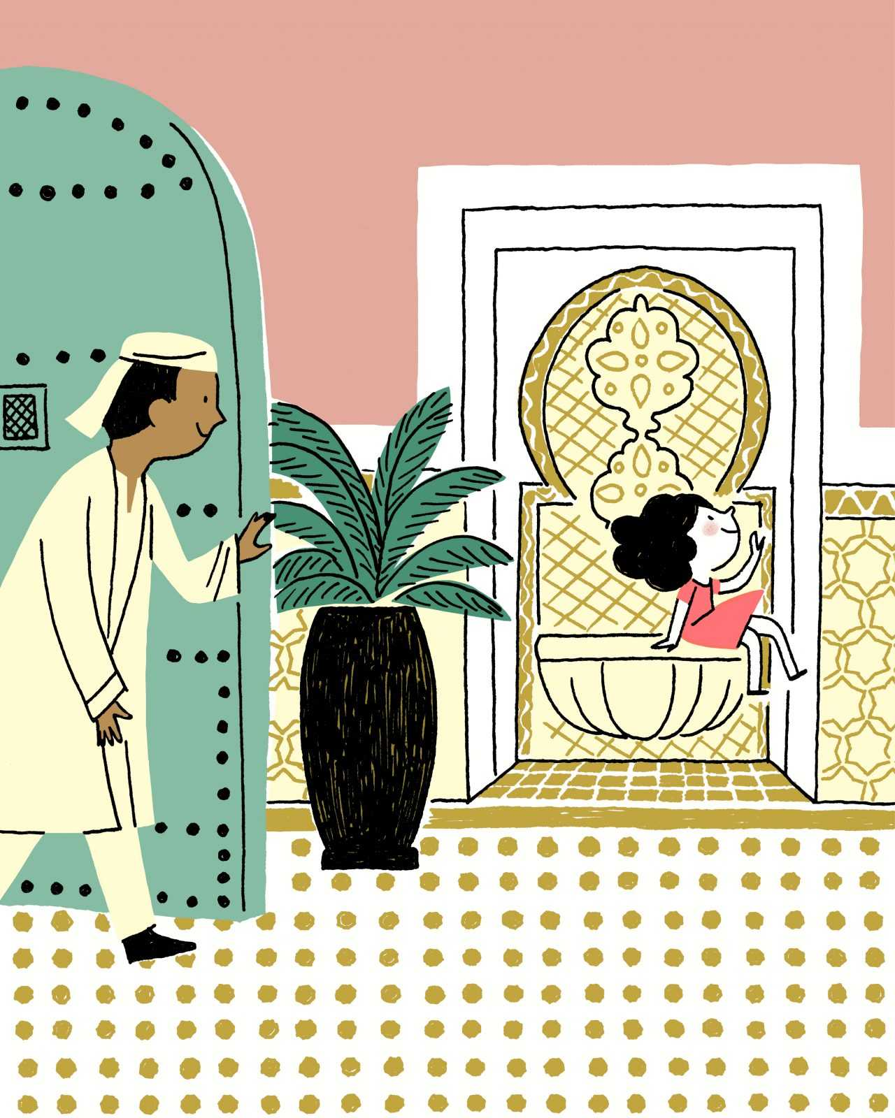 Un conte pour enfants signé Royal Mansour