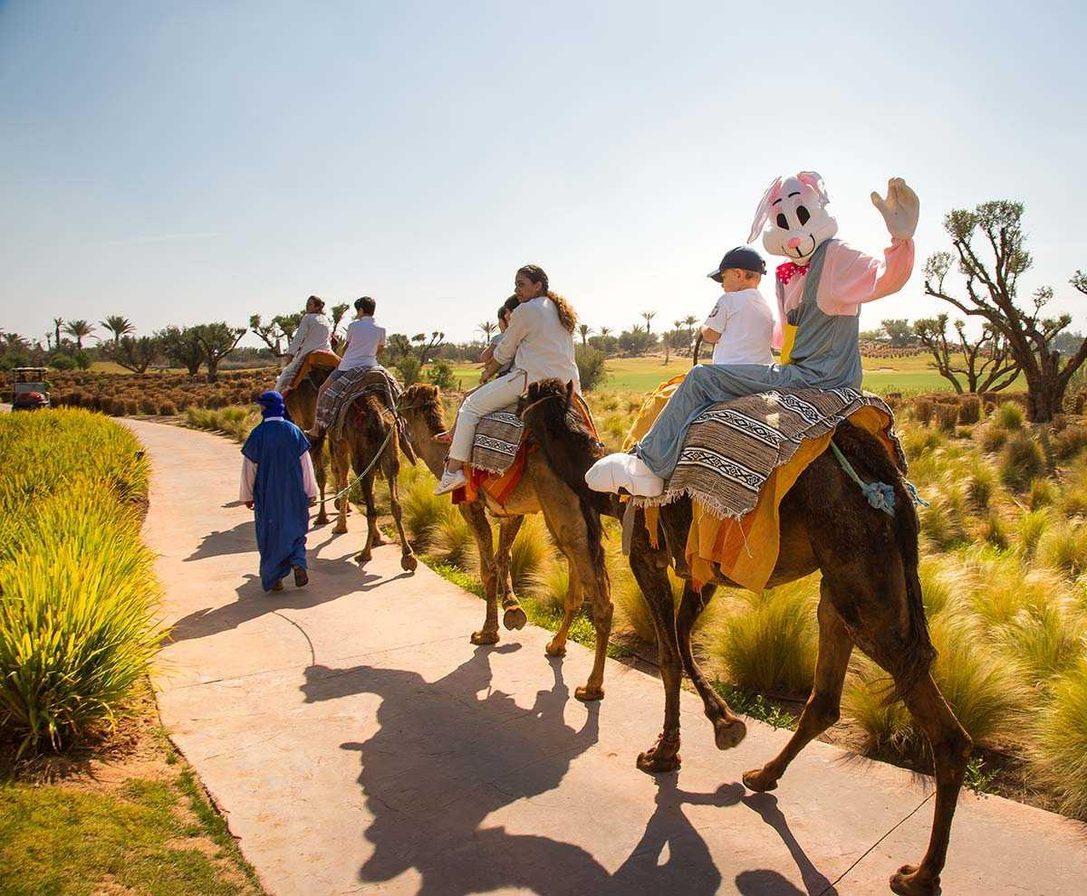 Les activités de printemps du Fairmont Royal Palm Marrakech