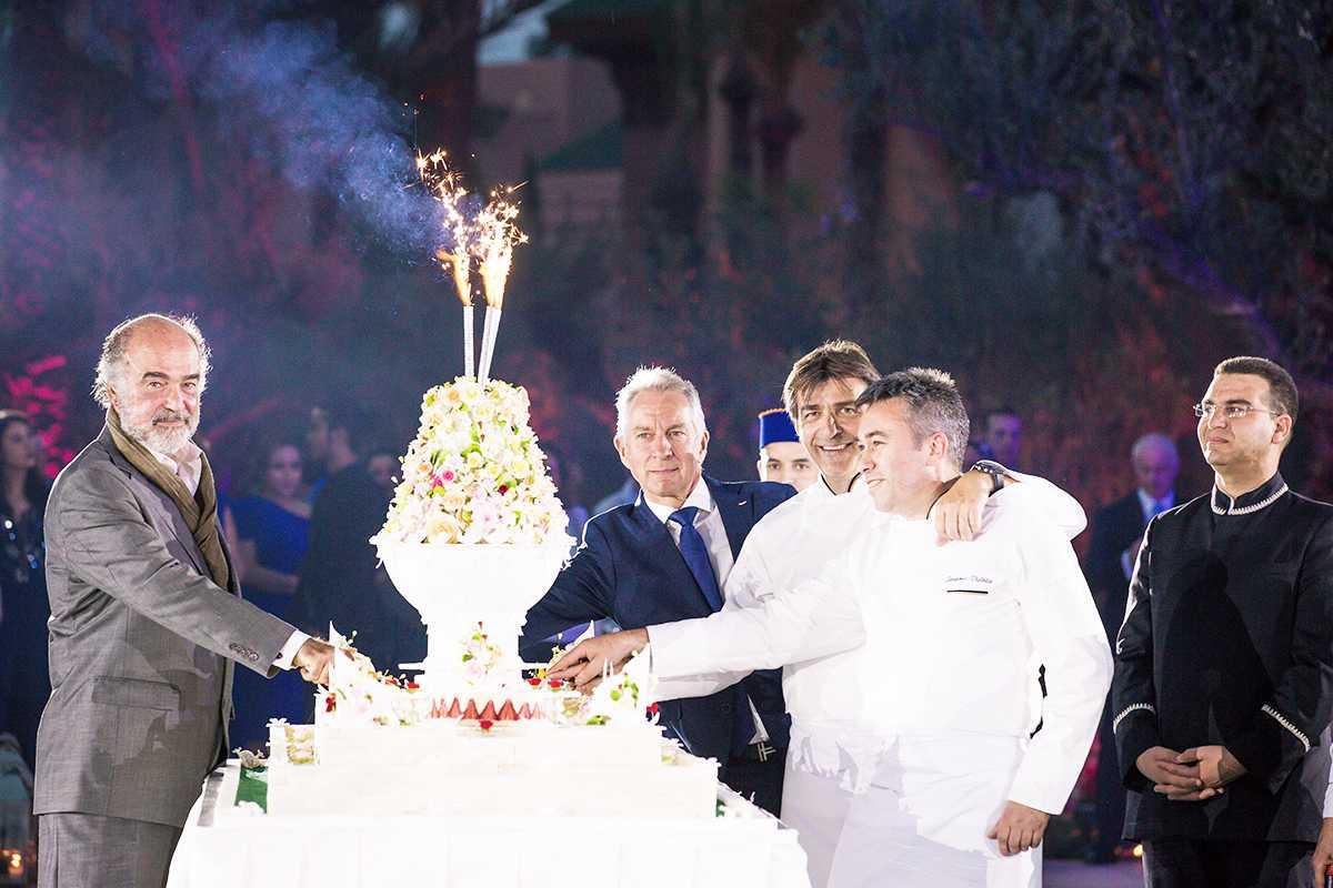 Soirée de l'année au Royal Mansour Inauguration du Jardin