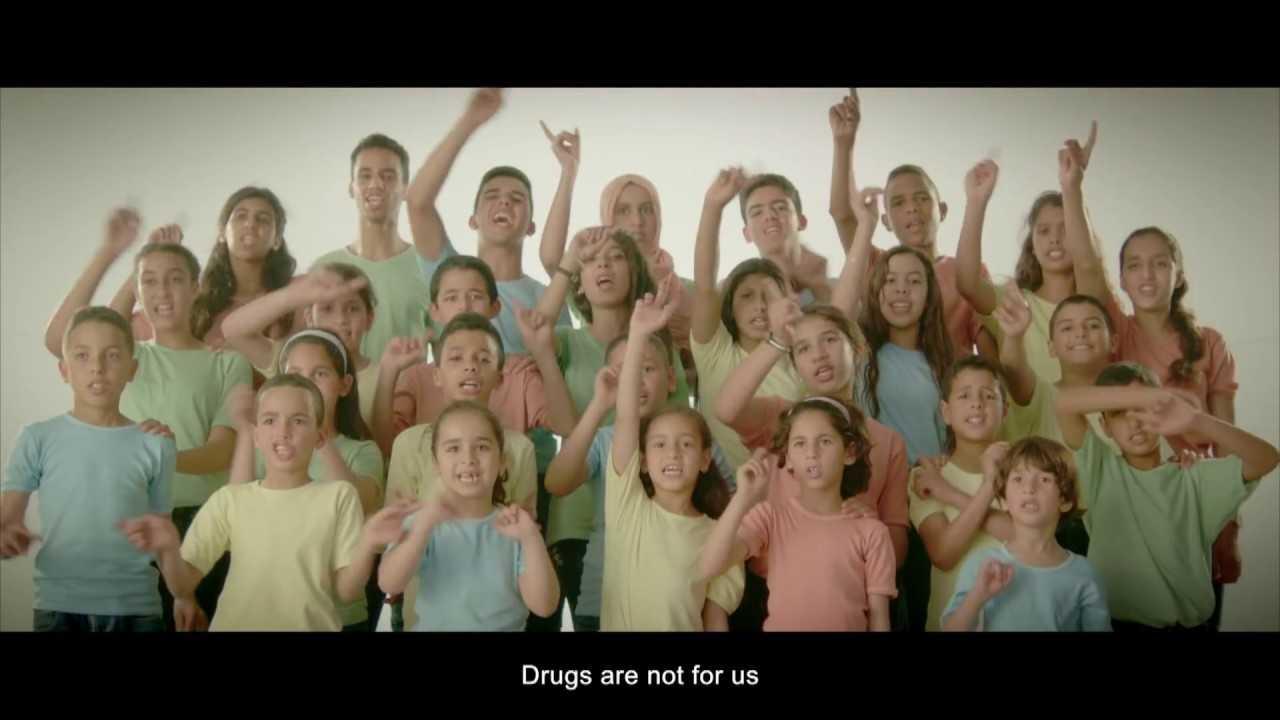 Chanter contre la drogue