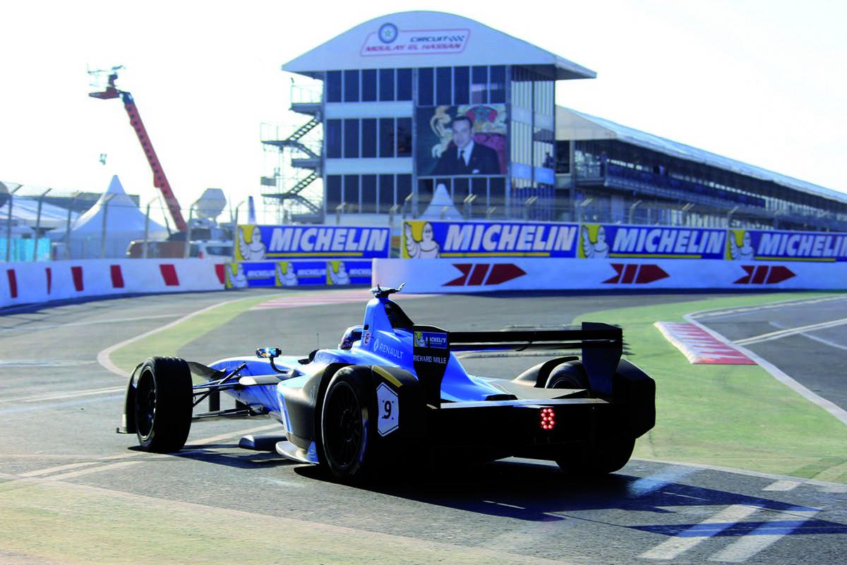 MARRAKECH ePRIX Formule Électrique, le Samedi 13 janvier 2018