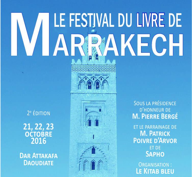2éme édition du Festival du Livre de Marrakech