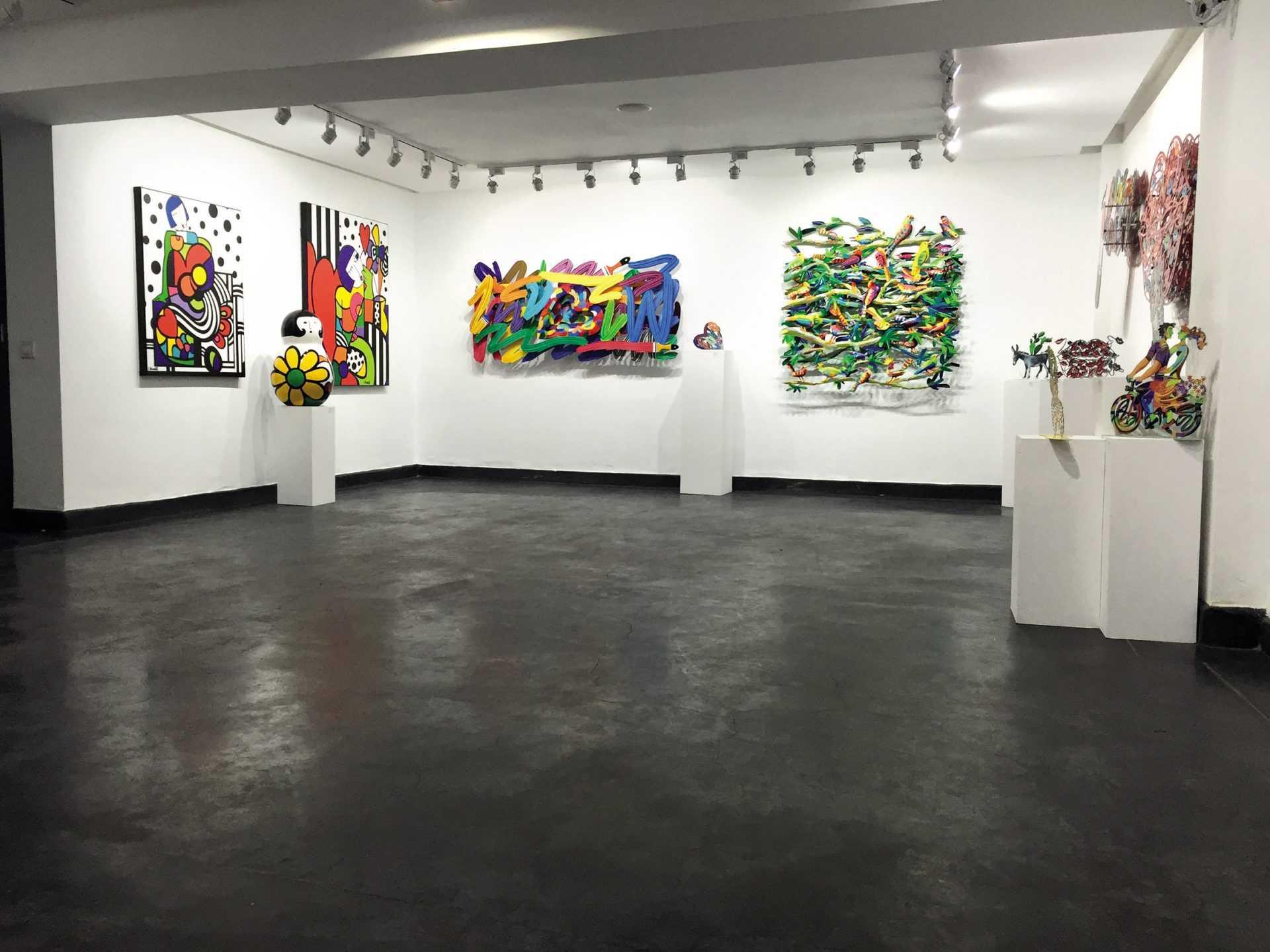 Lignes, Formes & Couleurs » » à la nouvelle Galerie Duret de Marrakech
