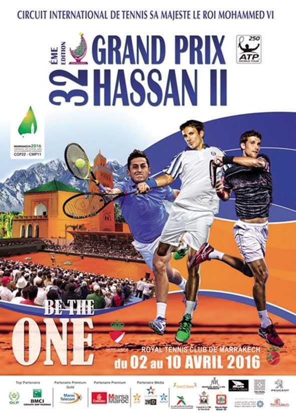 Le Grand Prix Hassan II de tennis revient à Marrakech
