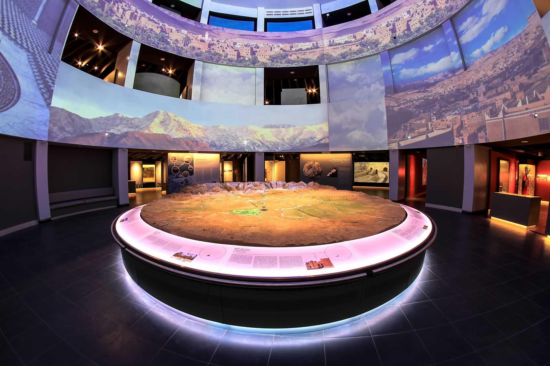 Le Musée Mohammed VI pour la civilisation de l'eau au Maroc –Aman-, a ouvert ses portes au public