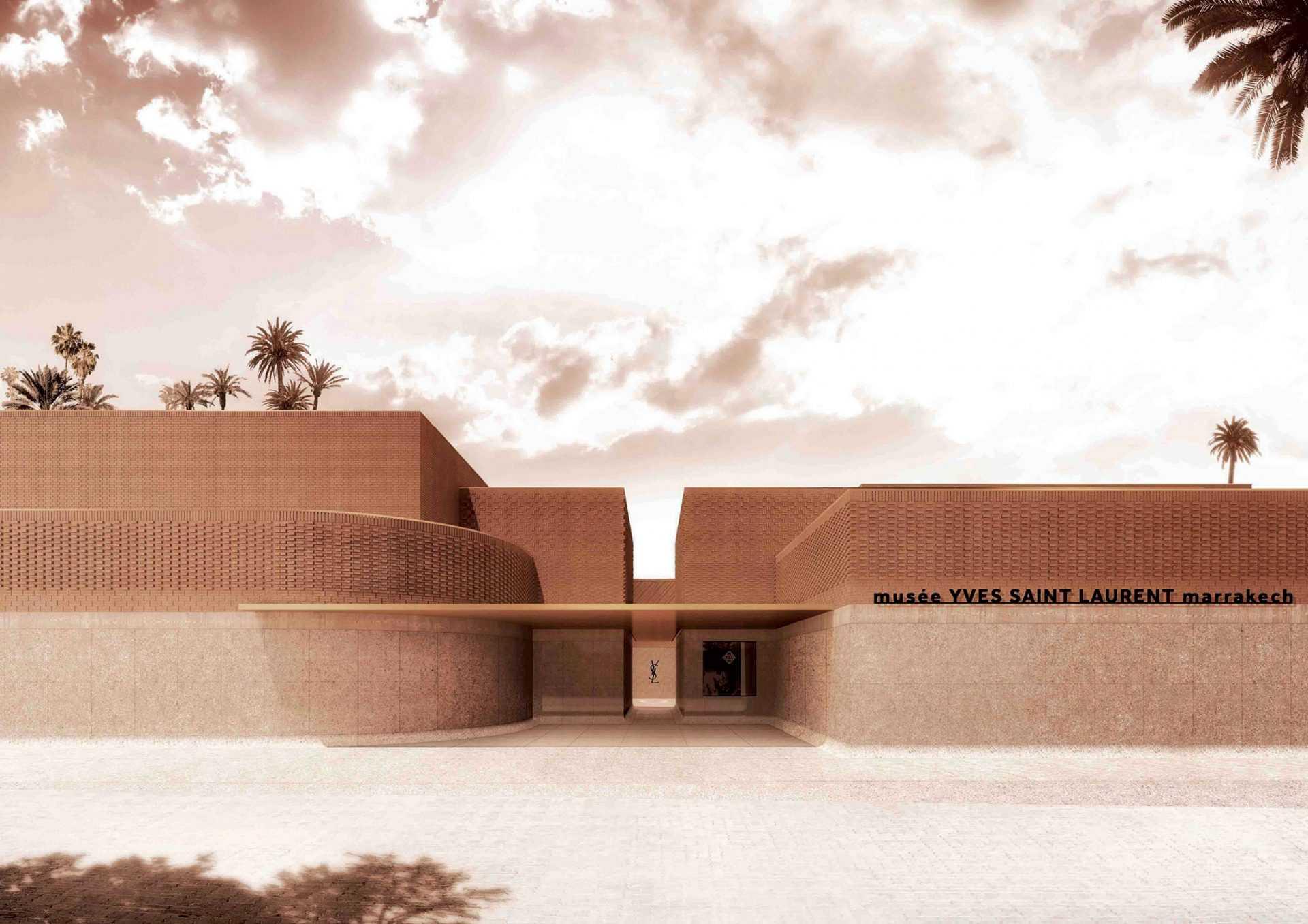 Le Studio KO signe le nouveau musée YVES SAINT LAURENT
