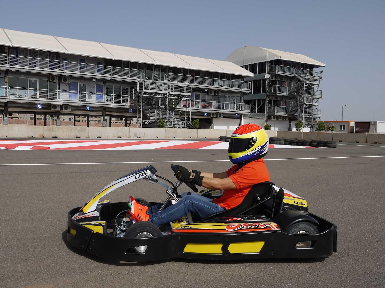 Marrakech Kart Racing : du karting en plein Marrakech !