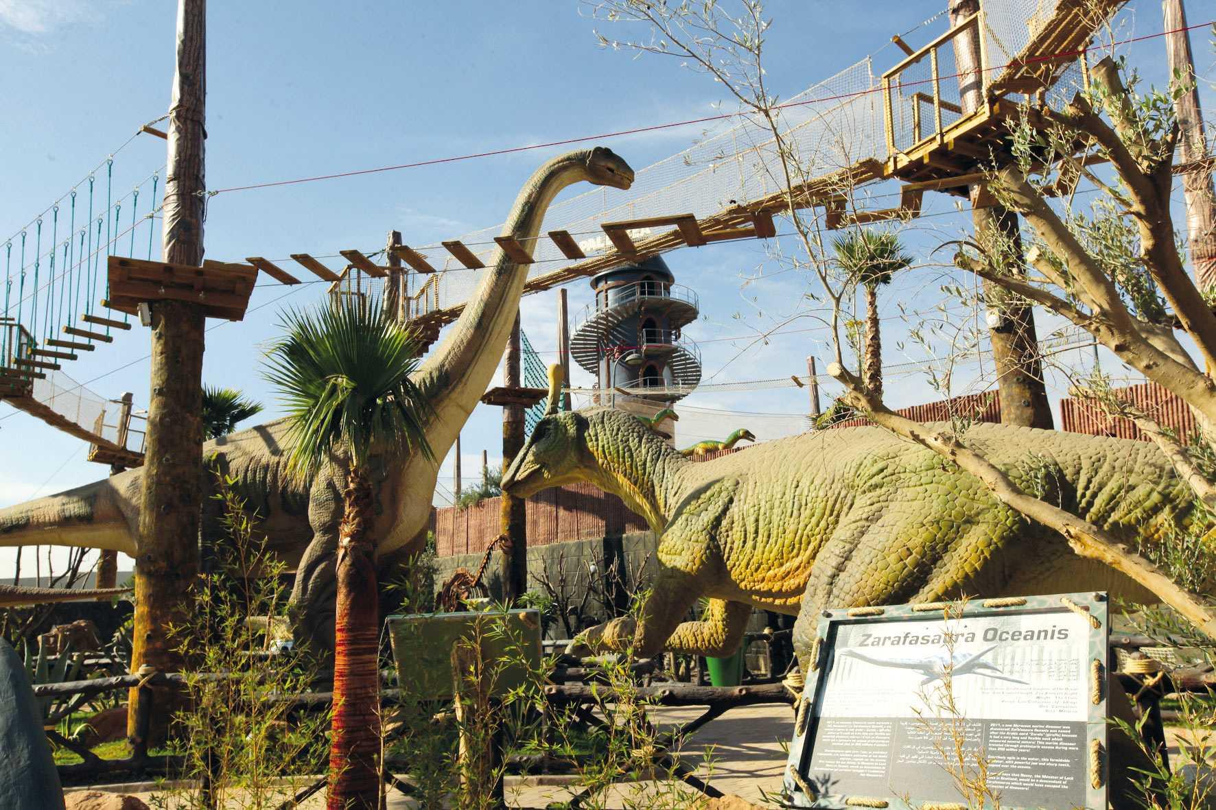 Bienvenue chez les dinosaures !