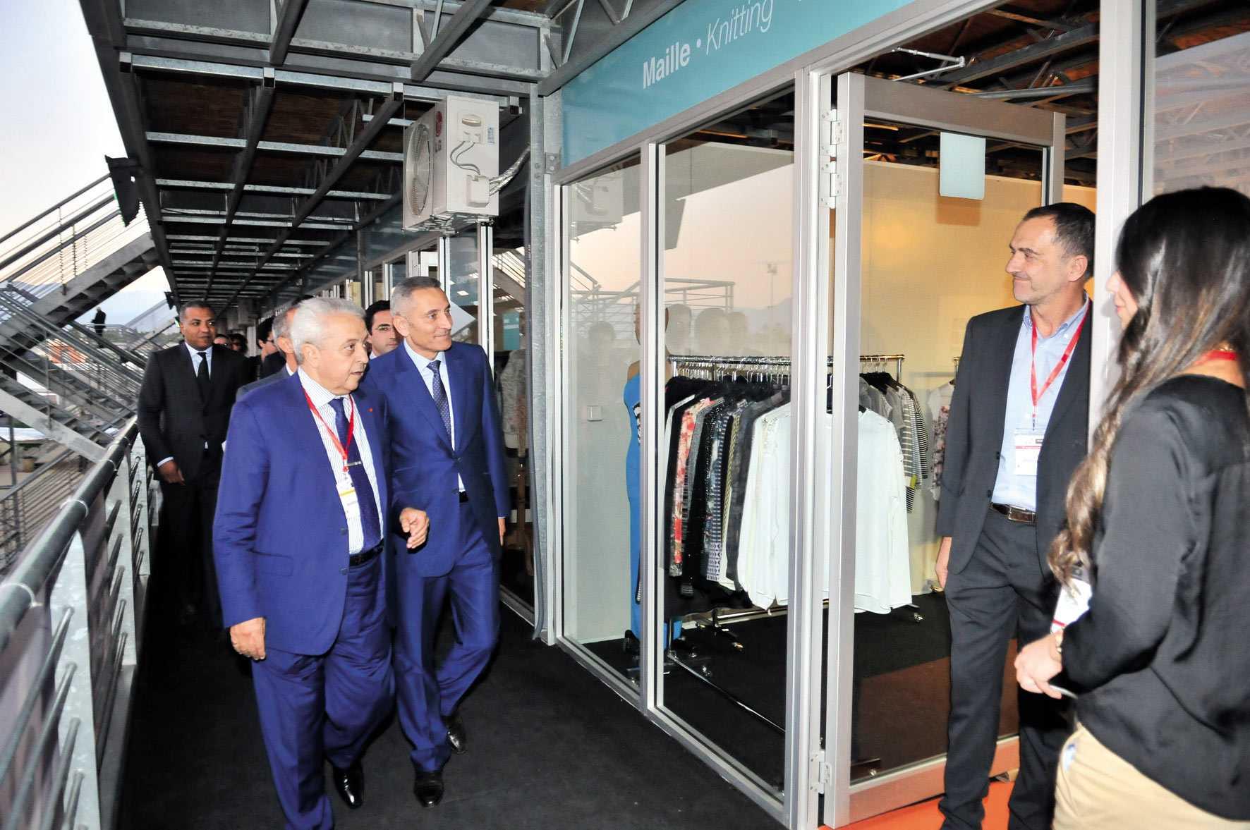 Le plus grand Salon marocain du textile inaugure le 1er parc expo de Marrakech