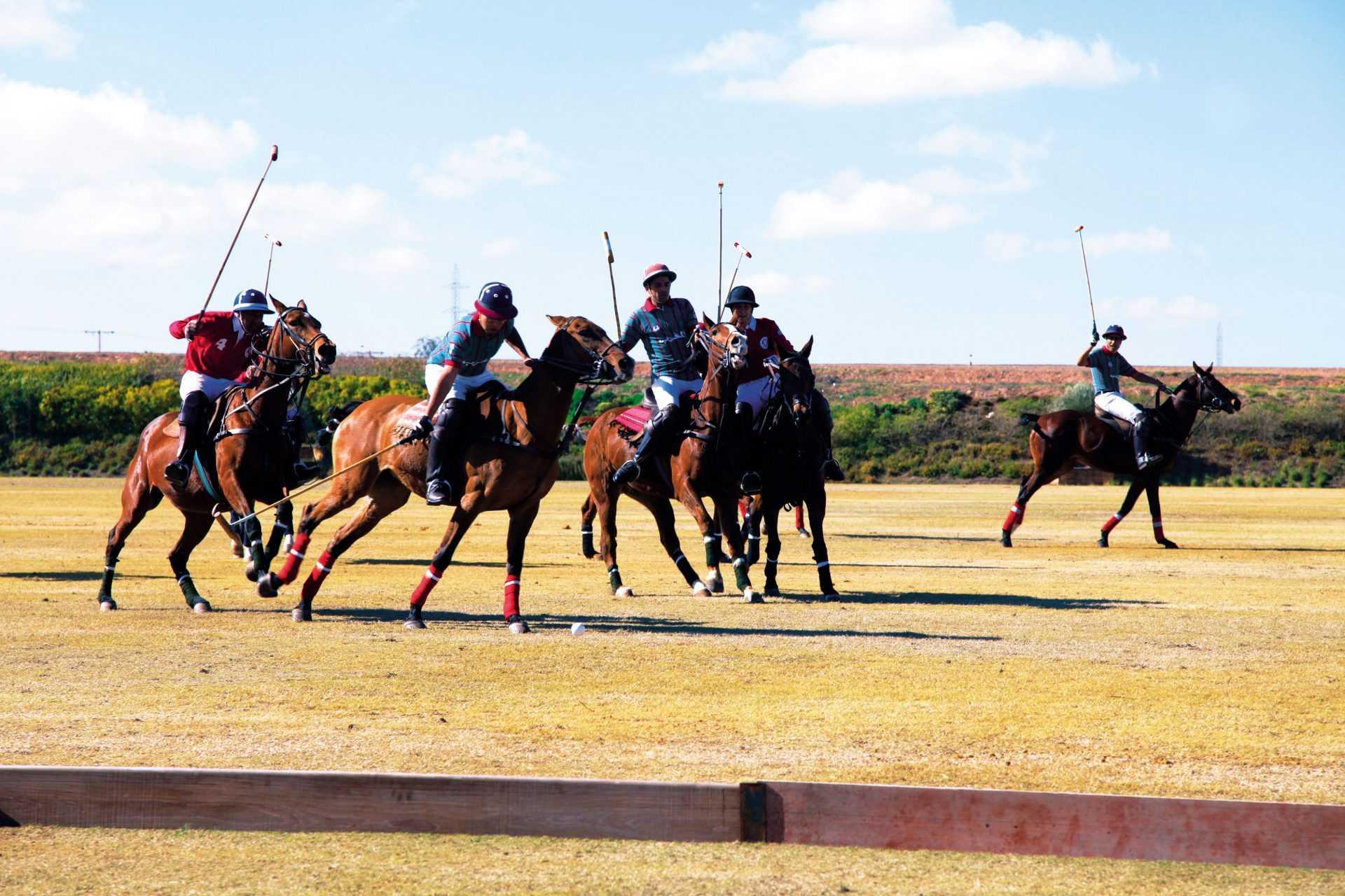 Tournoi de polo et lancement des travaux du Jnan Amar Polo Resort