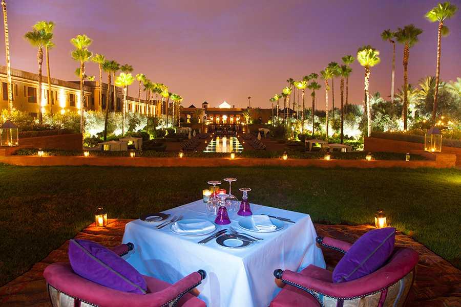 Assyl du Selman Marrakech Sacré meilleur restaurant de luxe au Maroc