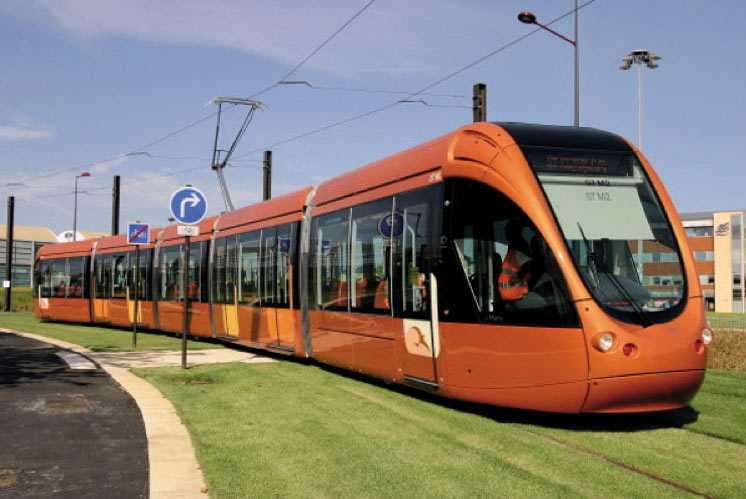 Nouveaux tram-bus à Marrakech