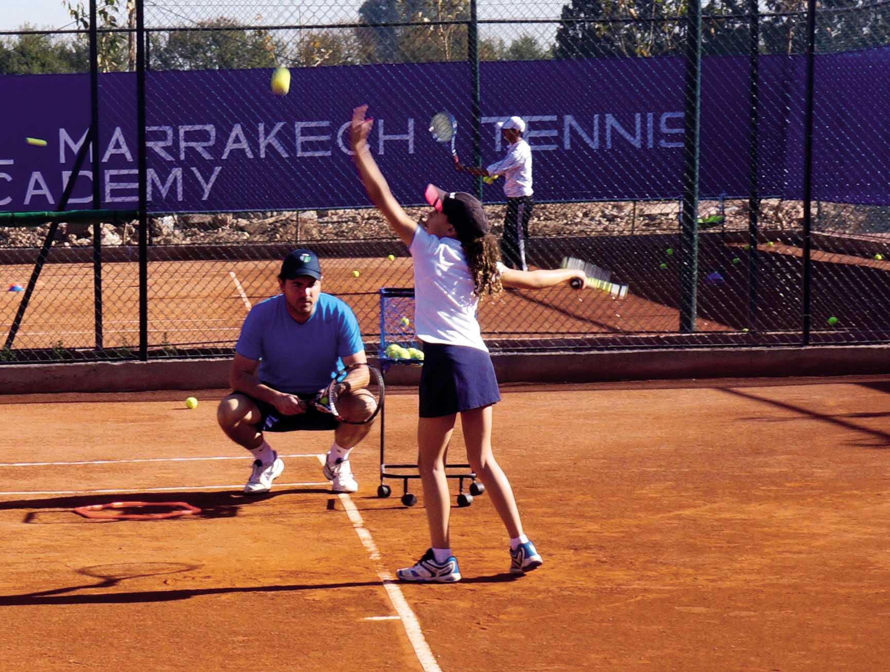 Nouvelle académie de tennis à Marrakech