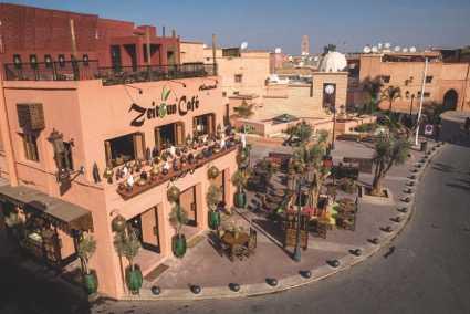 Zeitoun Café à la kasbah