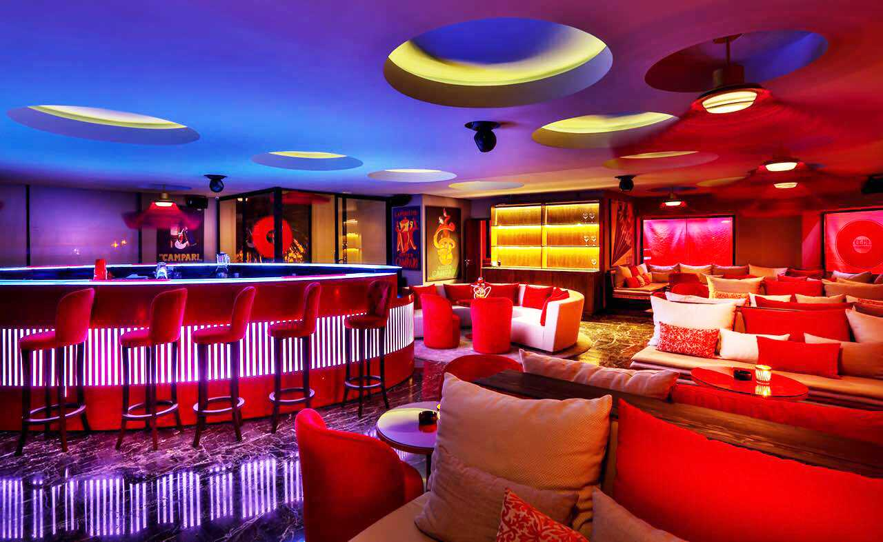 MOD Marrakech : le Red Lounge by Campari