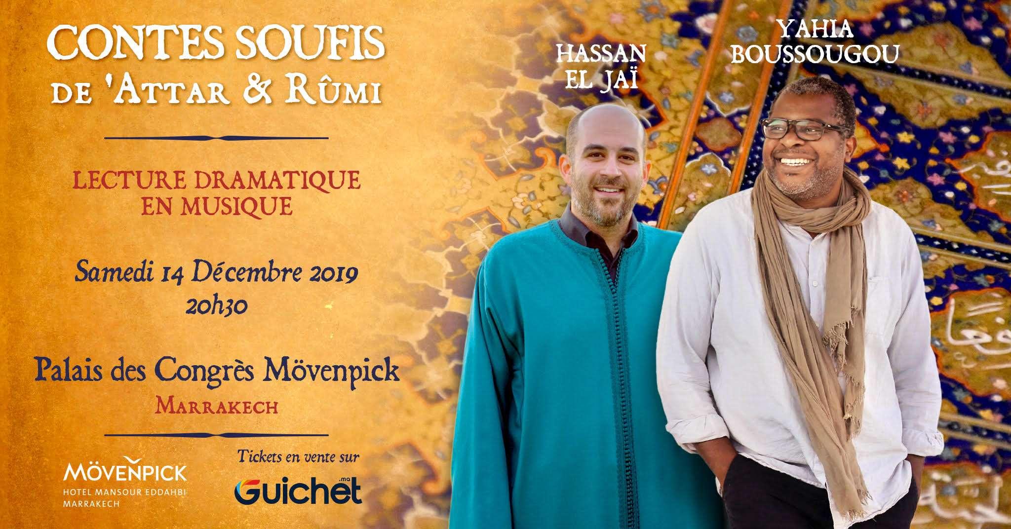Spectacle De Hassan El Jai Au Palais Des Congres By Movenpick Contes Soufis De Attar Rumi La Tribune